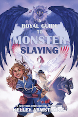 A Royal Guide to Monster Slaying Trade Paperback & eBook United Kingdom cover