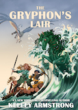 The Gryphon's Lair Trade Paperback & eBook United Kingdom cover