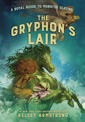 The Gryphon's Lair Hardcover & eBook  Canada cover