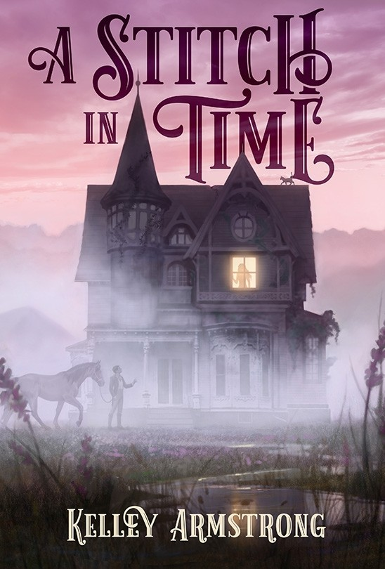 A Stitch in Time Hardcover US, Canada & United Kingdom cover