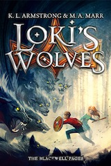 Loki's Wolves Hardcover United Kingdom cover