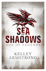 Sea of Shadows Trade Paperback & eBook United Kingdom cover